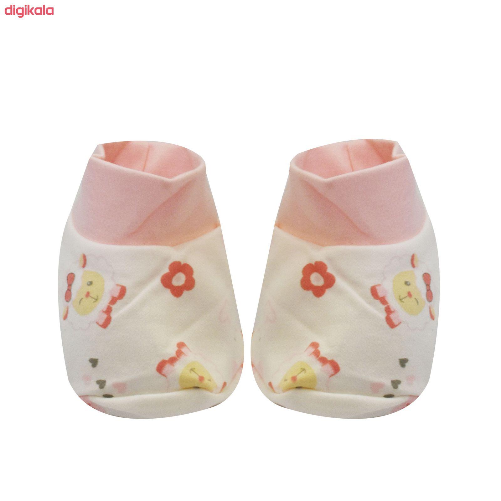 خرید اینترنتی با تخفیف ویژه ست 7 تکه لباس نوزادی مادرکر طرح بره ناقلا کد M454.7