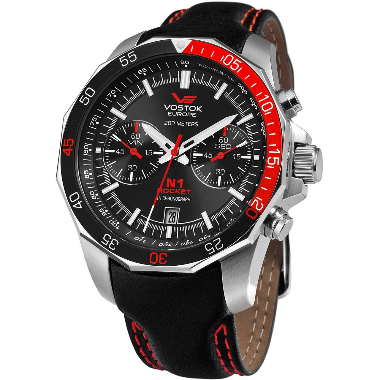 ساعت مچی عقربه ای مردانه وستوک یوروپ مدل 6S21-2255295