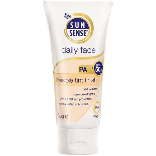 کرم ضد آفتاب سان سنس مدل Daily Face SPF50plus مقدار 50 گرم