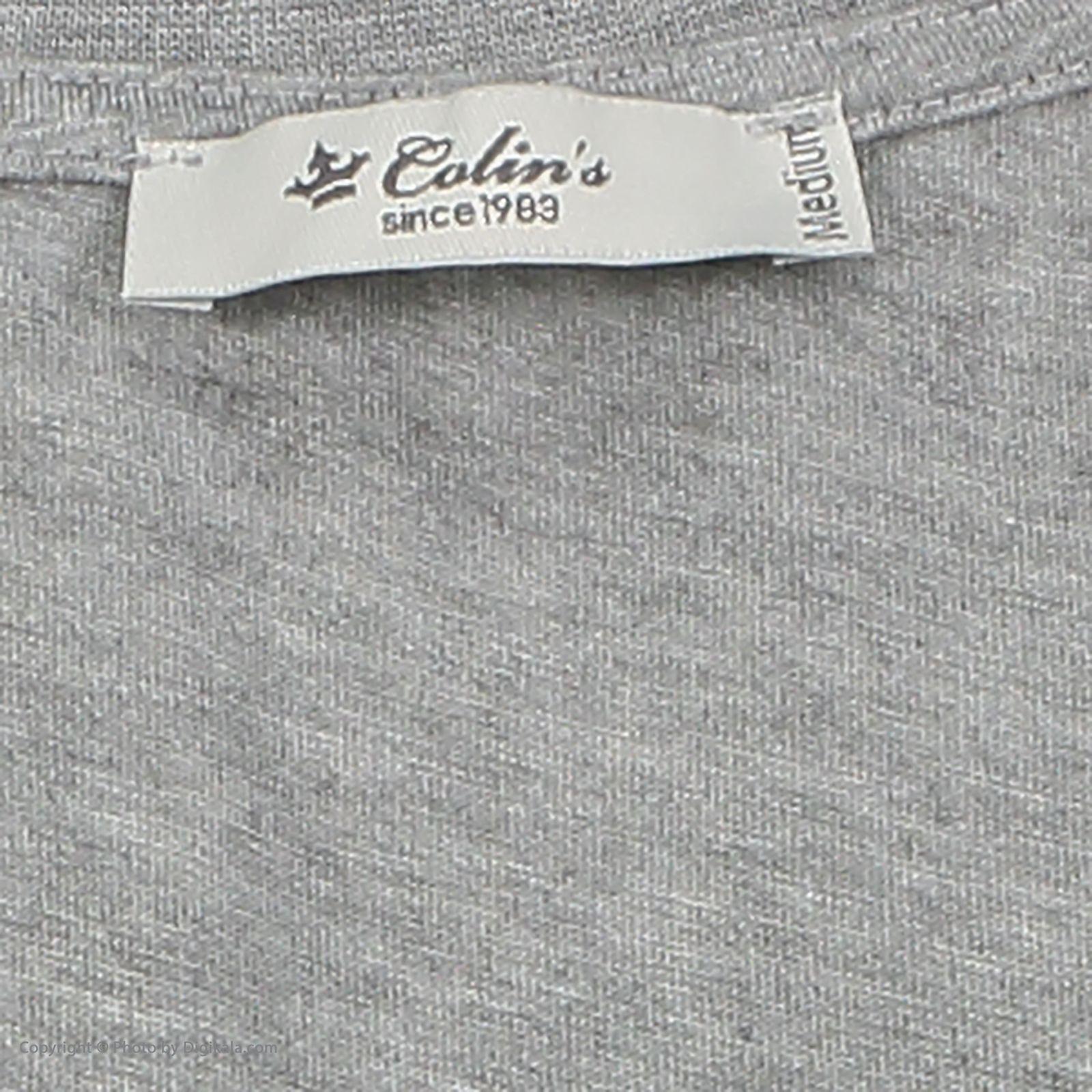 تی شرت زنانه کالینز مدل CL1031960-GREYMELANGE main 1 5