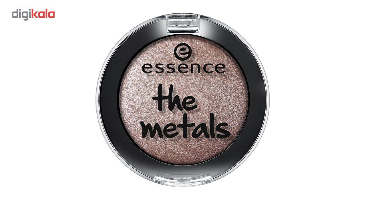 سایه چشم اسنس مدل The Metals شماره 02 main 1 1