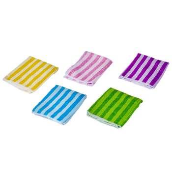 دستمال نظافت مدل Colorful بسته 5 عددی