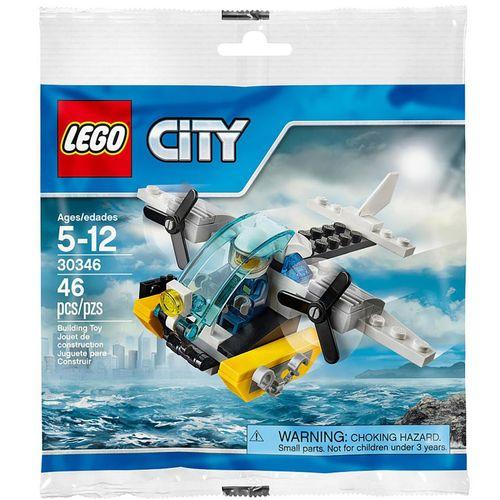 لگو سری City مدل Prison Island Helicopter 30346