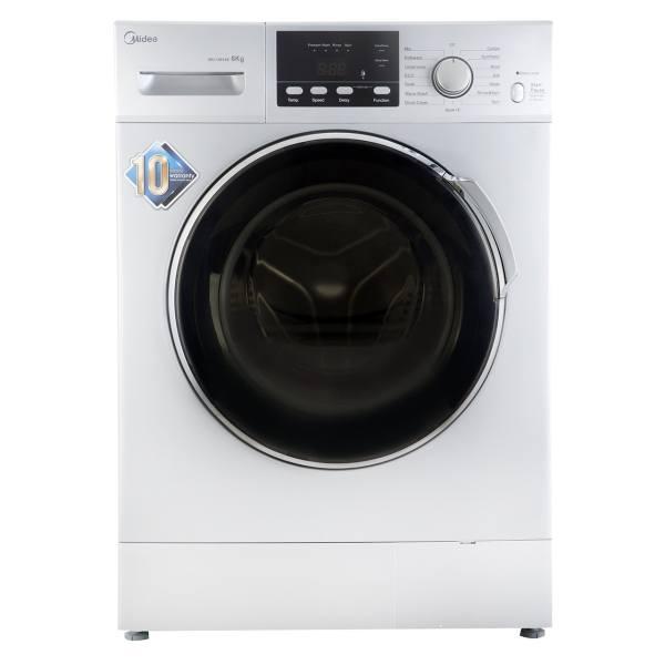 ماشین لباسشویی میدیا مدل WU-14814 با ظرفیت 8 کیلوگرم
