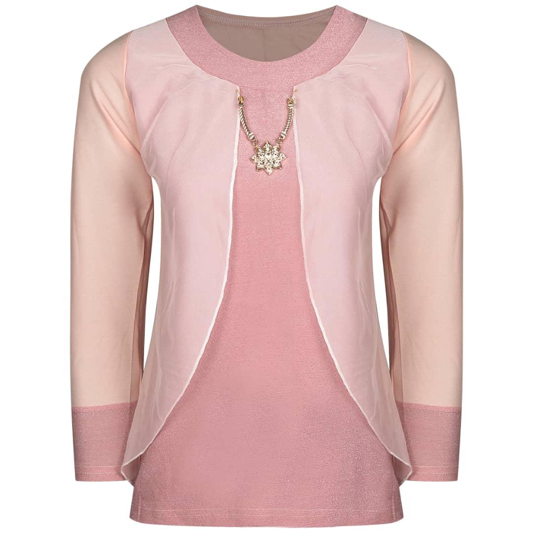 خرید                                         ست پیراهن و رویه زنانه مدل 130 رنگ صورتی
