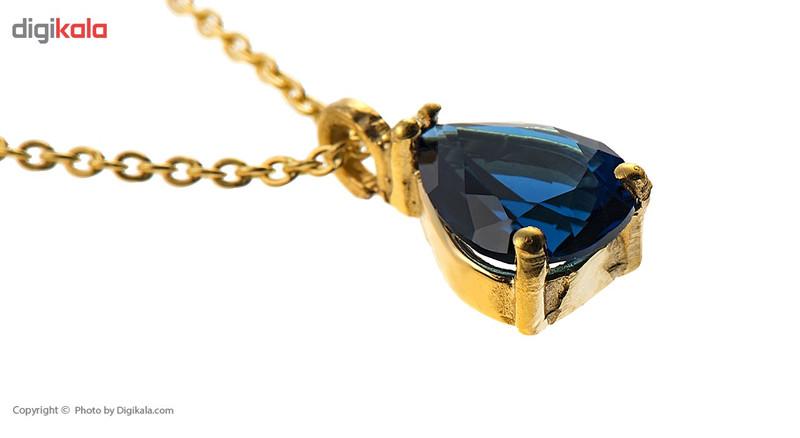 آویز ساعت طلا 18 عیار ماهک مدل MW0020 - مایا ماهک