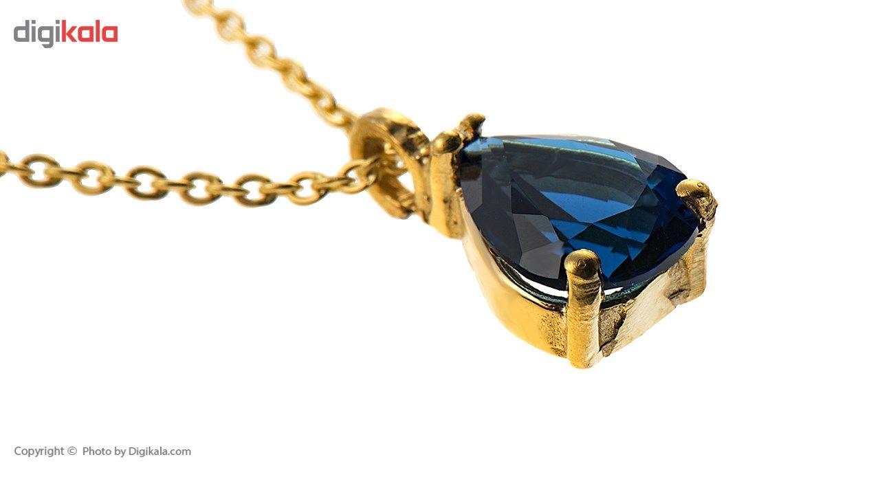 آویز ساعت طلا 18 عیار ماهک مدل MW0020 - مایا ماهک -  - 3