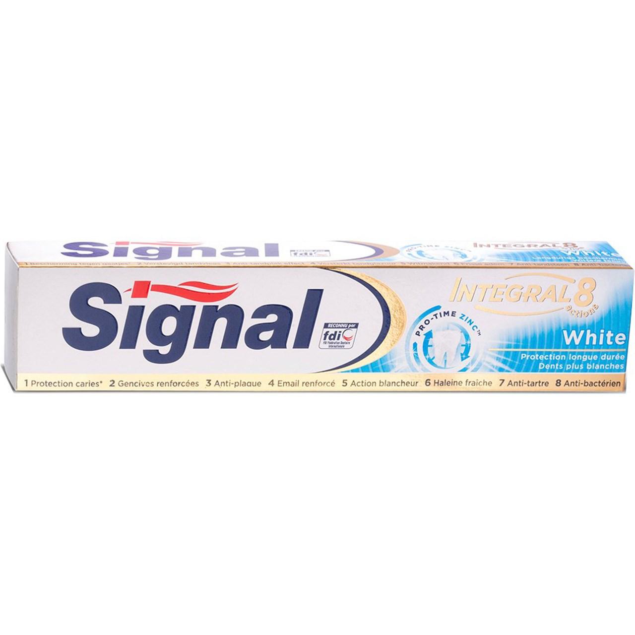 قیمت خمیر دندان سیگنال مدل White حجم 75 میلی لیتر