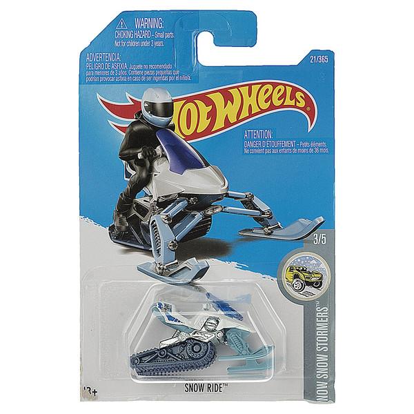 ماشین بازی متل سری هات ویلز مدل Snow Ride
