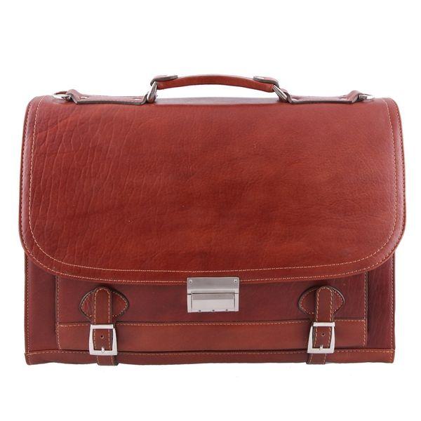 کیف اداری چرم طبیعی ماندگار مدل انگلیسی کد 136043