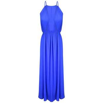 پیراهن ساحلی زنانه مدل BR022 رنگ آبی