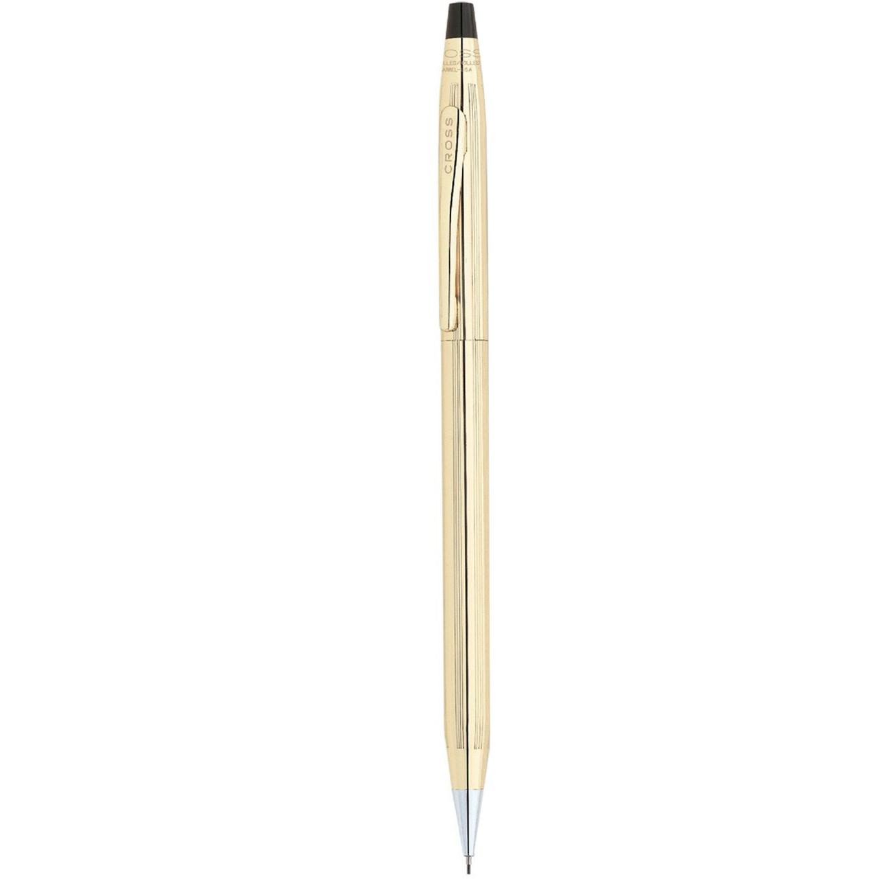 مداد نوکی 0.7 میلی متری کراس مدل Century با روکش طلا روی بدنه