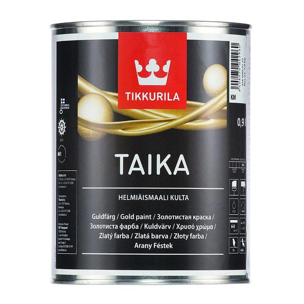 رنگ طلایی تیکوریلا مدل Taika حجم 1 لیتر