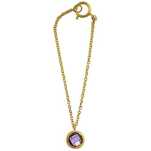 آویز ساعت طلا 18 عیار ماهک مدل MW0021 - مایا ماهک