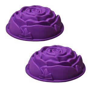 قالب شیرینی رجینال مدل Flower-6 سایز 24 - بسته 2 عددی