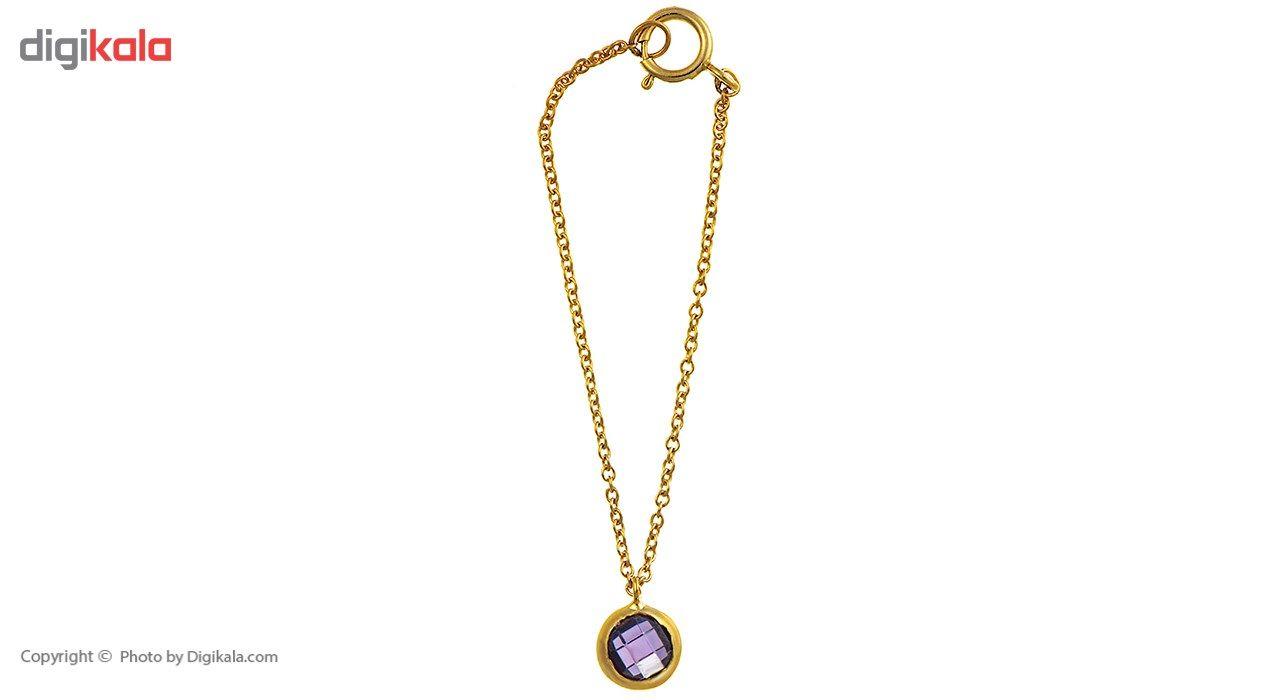 آویز ساعت طلا 18 عیار ماهک مدل MW0021 - مایا ماهک -  - 2