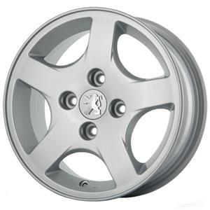 رینگ آلومینیومی چرخ مدل KW018N مناسب برای خودروی پژو 207 و 206