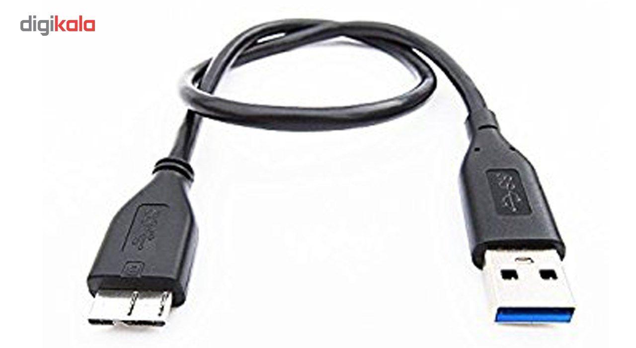 کابل تبدیل USB 3.0 به micro-B مدل AM/HDD طول 30 سانتی متر main 1 2
