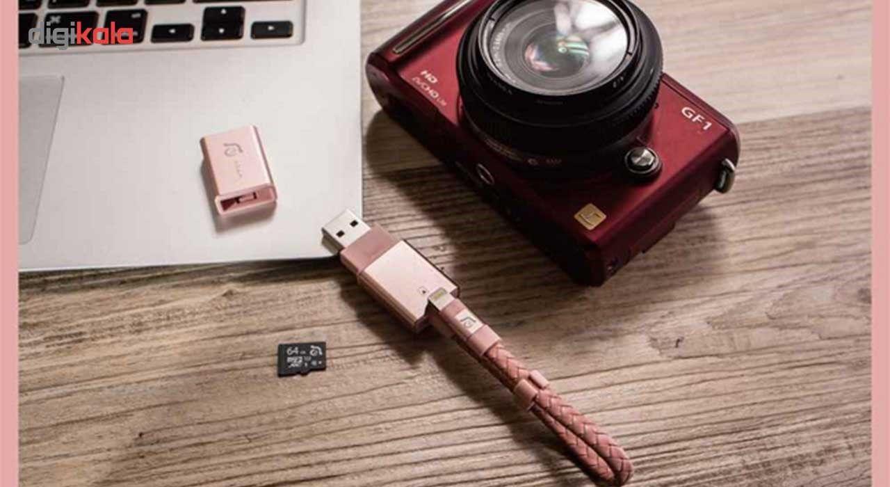 کارت خوان آدام المنتس مدل iKlips Wizard With 128GB microSD با کانکتور لایتنینگ main 1 11