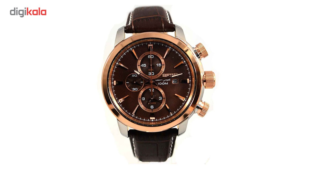 خرید ساعت مچی عقربه ای مردانه سیکو مدل SNAF52P1