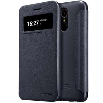کیف کلاسوری نیلکین مدل New Leather Sparkle مناسب برای گوشی موبایل ال جی K10 2017
