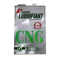 روغن موتور خودرو کانادا لوبریفینت مدل CNG ظرفیت 4 لیتر
