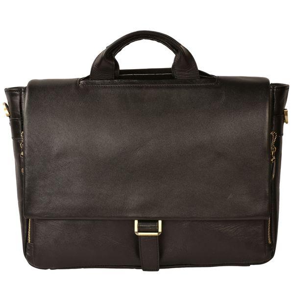 کیف اداری چرم طبیعی کهن چرم مدل LZ17