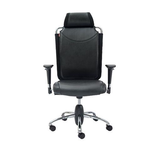 صندلی اداری نیلپر مدل SM812v چرمی