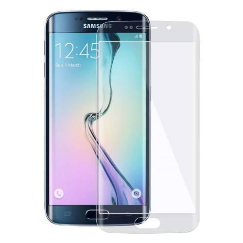 محافظ صفحه نمایش شیشه ای تمپرد مدل Full Cover مناسب برای گوشی موبایل سامسونگ Galaxy S6 Edge