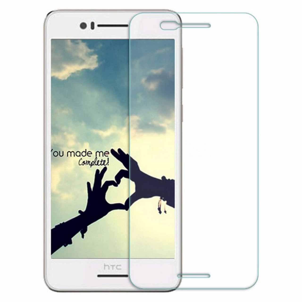 محافظ صفحه نمایش شیشه ای مدل 9H مناسب برای گوشی اچ تی سی Desire 728