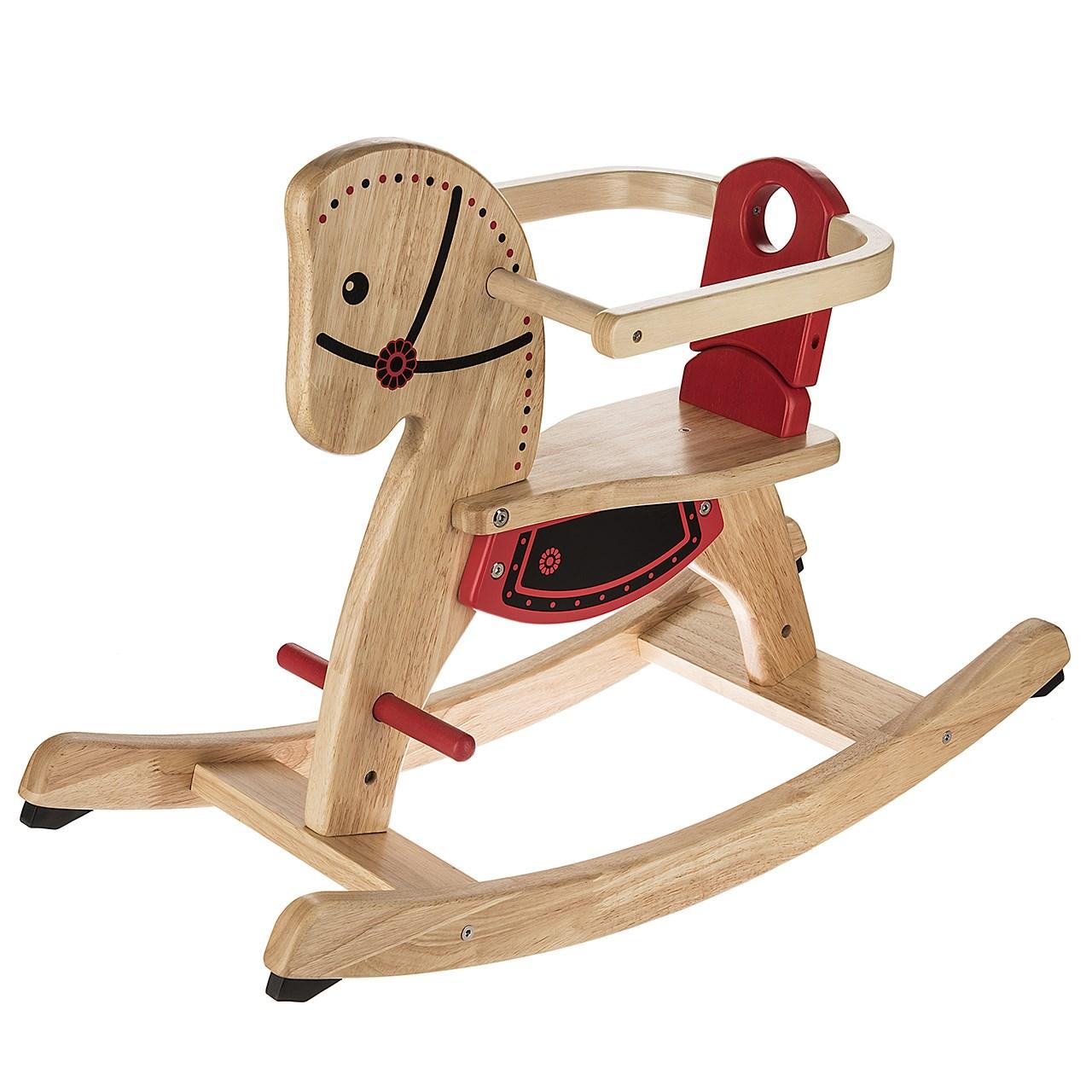 راکر کودک پین تویز مدل Wooden Horse