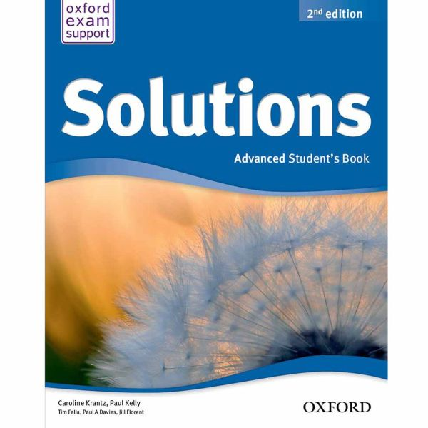 کتاب Solutions Advanced Book And Workbook اثر تیم فالا - دو جلدی