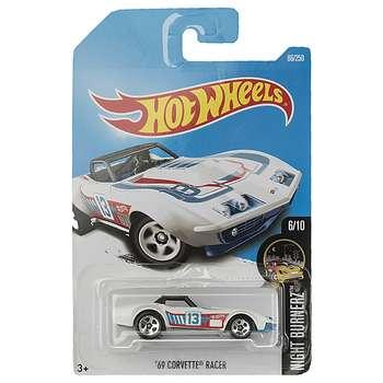 ماشین بازی متل سری هات ویلز مدل 69 Corvette Racer