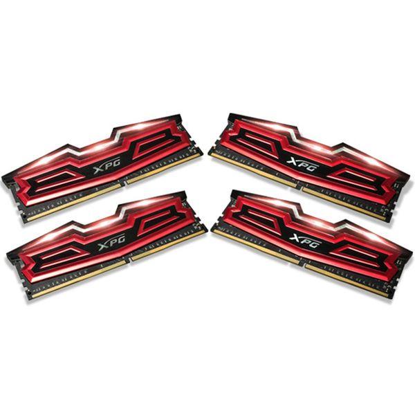 رم دسکتاپ DDR4 چهار کاناله 2800 مگاهرتز ای دیتا مدل XPG Dazzle ظرفیت 32 گیگابایت