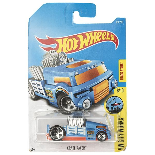 ماشن بازی متل سری هات ویلز مدل  Crate Racer