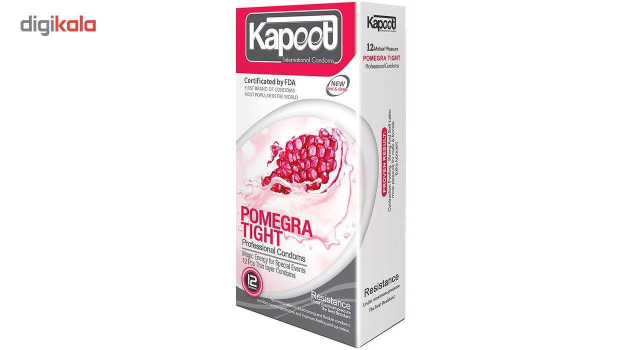 کاندوم کاپوت مدل Pomegra Tight بسته 12 عددی main 1 1