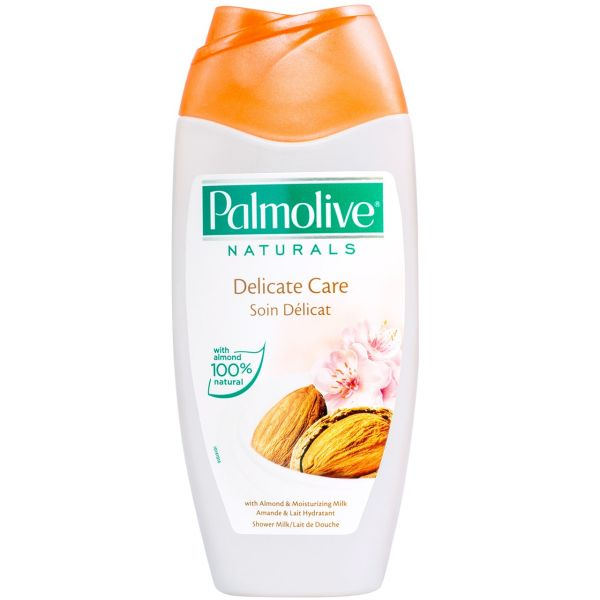 شامپو بدن پالمولیو سری Naturals مدل Almond And Milk حجم 250 میلی لیتر