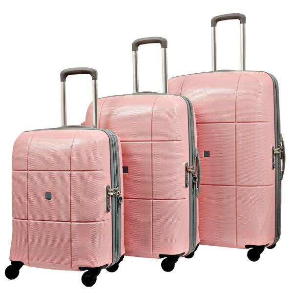 مجموعه سه عددی چمدان اکولاک مدل اطلس