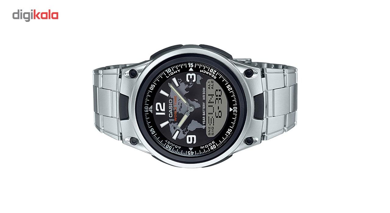 ساعت مچی عقربه ای مردانه کاسیو مدل AW-80D-1A2VDF