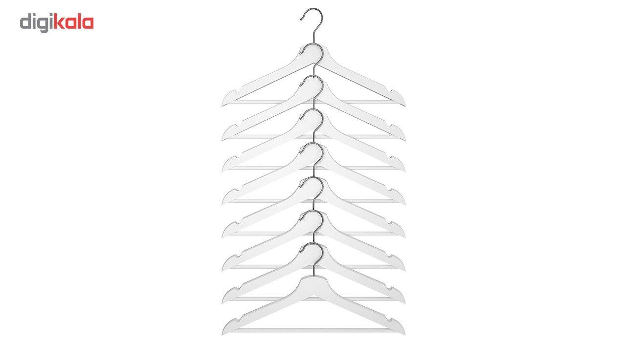 چوب لباسی ایکیا مدل Bumerang - بسته 8 عددی main 1 1