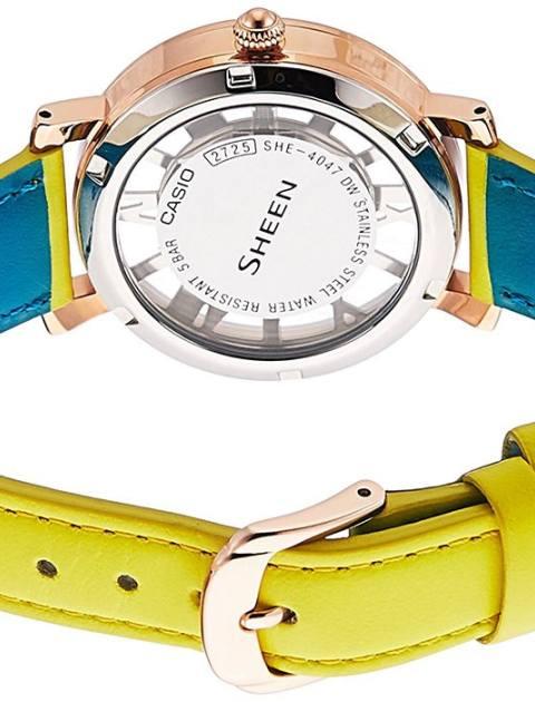 ساعت مچی عقربه ای زنانه کاسیو مدل SHE-4047PGL-9AUDR -  - 4