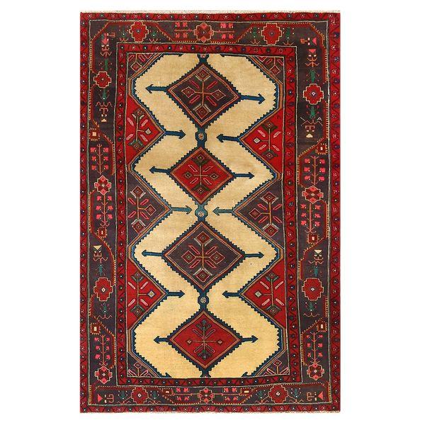 فرش دستبافت قدیمی سه و نیم متری کد 129563