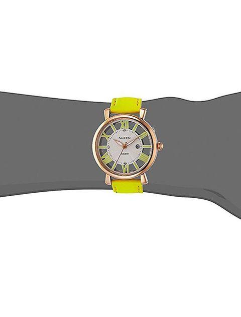 ساعت مچی عقربه ای زنانه کاسیو مدل SHE-4047PGL-9AUDR -  - 2