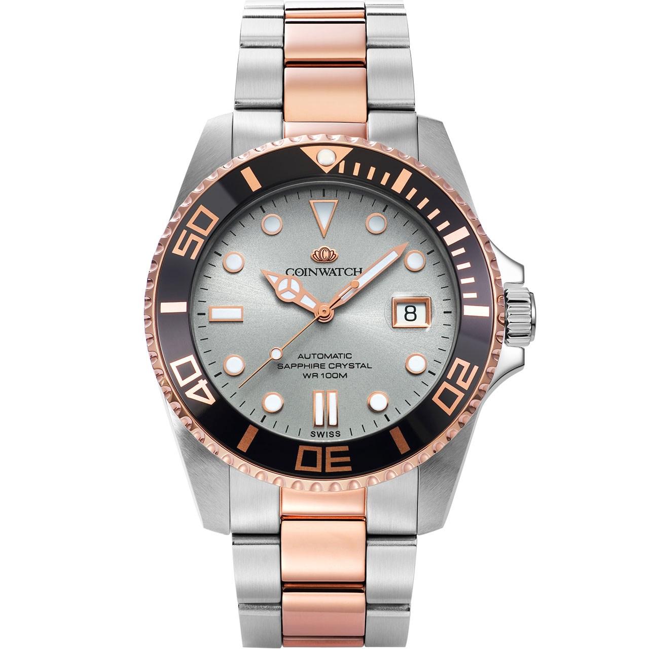 ساعت مچی عقربه ای مردانه کوین واچ مدل C105RGY 6