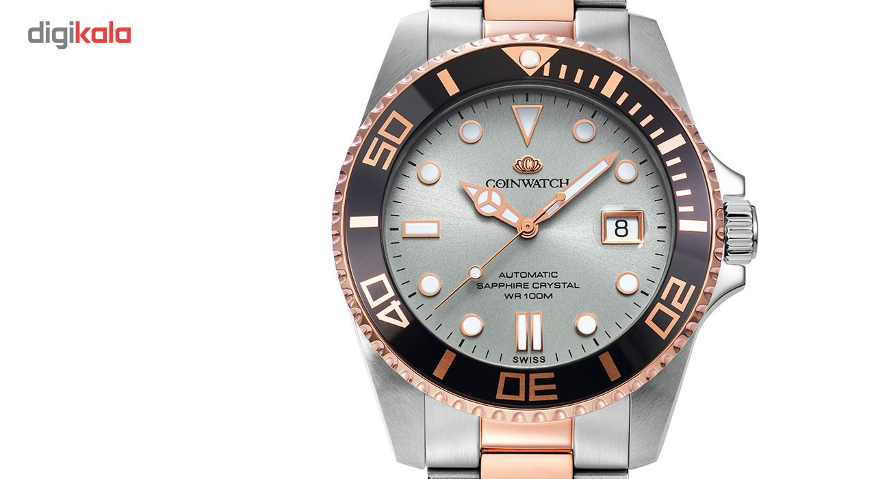 ساعت مچی عقربه ای مردانه کوین واچ مدل C105RGY