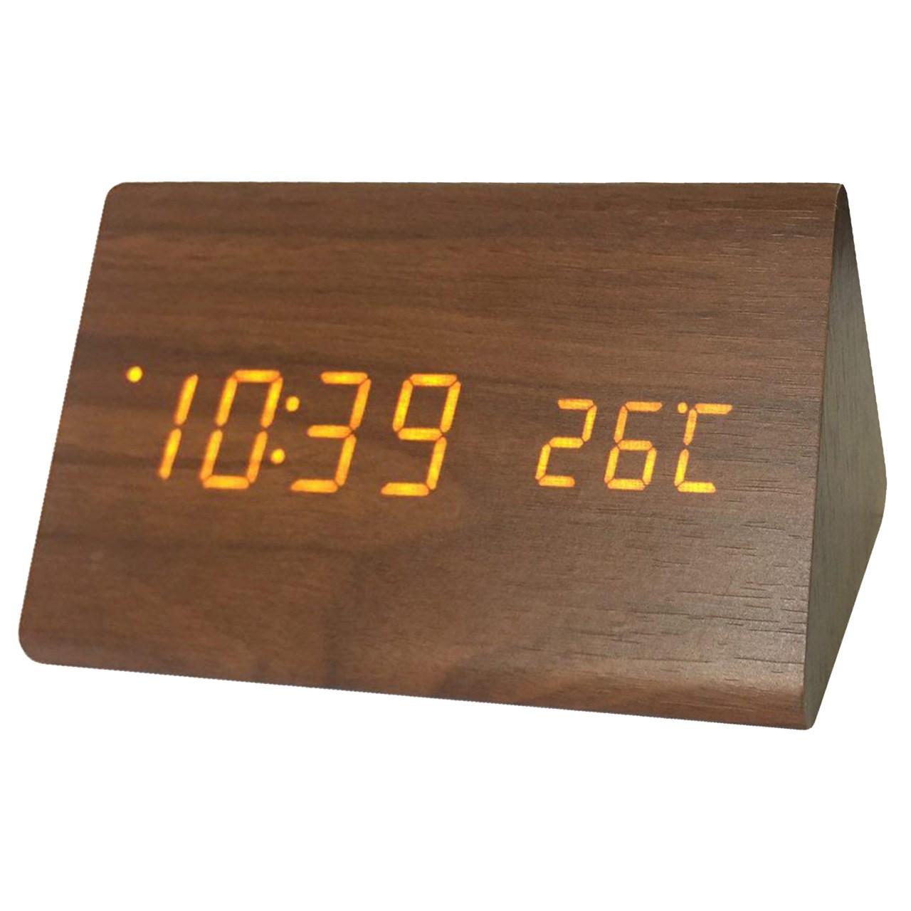 ساعت رومیزی کیمیت مدل Woody 861BOrange