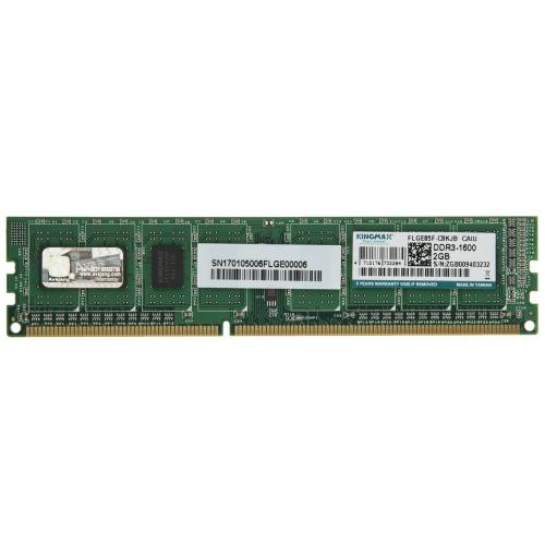 رم دسکتاپ DDR3 تک کاناله 1600 مگاهرتز کینگ مکس ظرفیت 2 گیگابایت