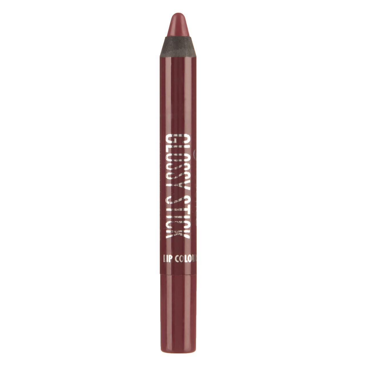 رژ لب مدادی اسنس سری Glossy Stick مدل Brilliant Burgundy شماره 05