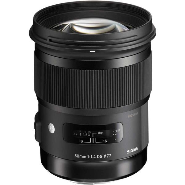 لنز سیگما مدل 50mm f/1.4 DG HSM Art for Nikon Cameras Lens