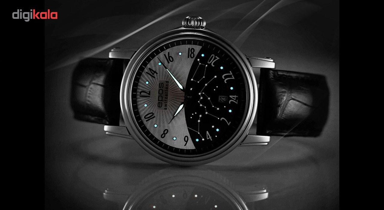 ساعت مچی عقربه ای مردانه ایپوز مدل 3390.302.20.38.25